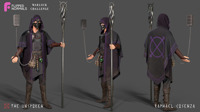 warlock final - different angles